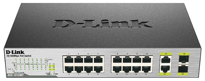 D-link Коммутатор D-link DES-1018MP