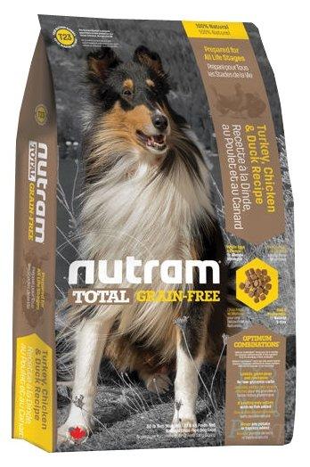 Корм для собак Nutram T23 Индейка, курица и утка для собак