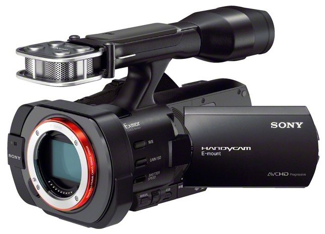 Sony NEX-VG900E Black