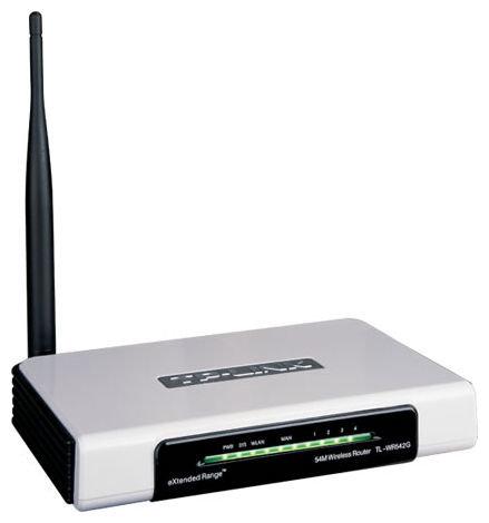 Wi-Fi роутер TP-LINK TL-WR542G