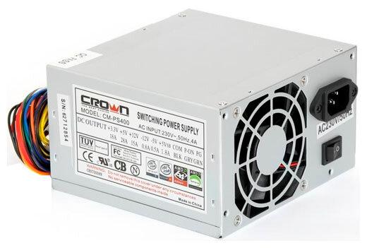 Блок питания CROWN CM-PS400 400W