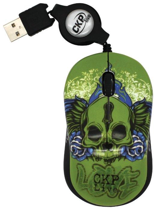 Мышь Cirkuit Planet CPL-MM1230 Green-Black USB