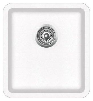 Врезная кухонная мойка AQUASANITA Arca SQA101 42х46см искусственный гранит