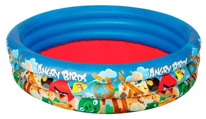 Детский бассейн Bestway 3-Ring 96108 Angry Birds