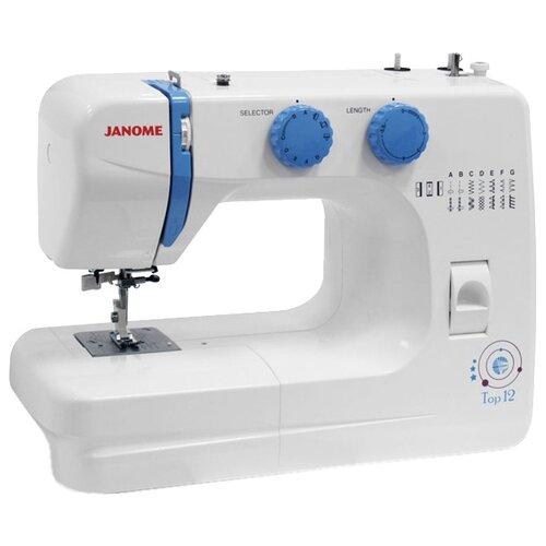 Швейная машина Janome Top 12, белый