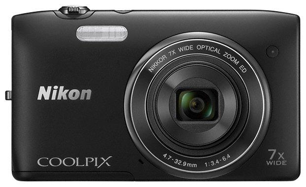 Nikon Компактный фотоаппарат Nikon Coolpix S3400