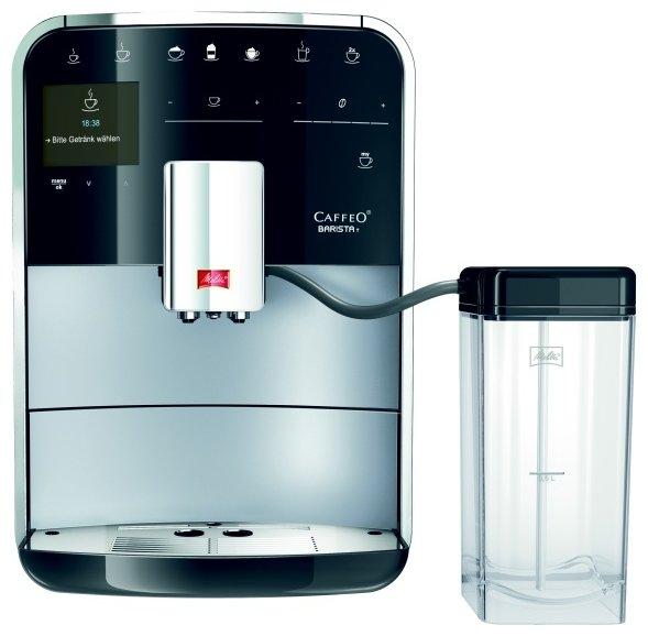 Кофемашина Melitta Caffeo Barista T F 730-101 1450 Вт серебристый