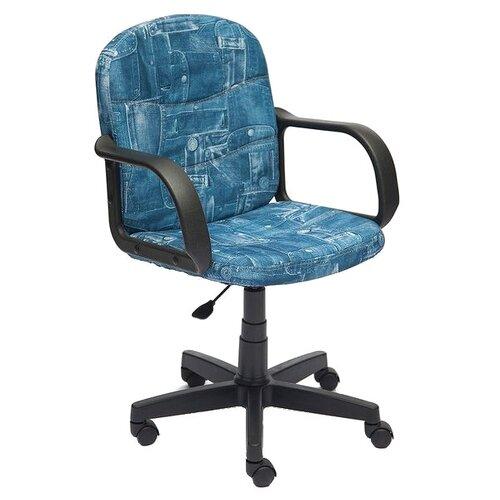 Компьютерное кресло TetChair Багги, обивка: текстиль, цвет: джинса по цене 4 690