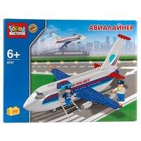 Конструктор ГОРОД МАСТЕРОВ Городской транспорт BB-6747-R Авиалайнер