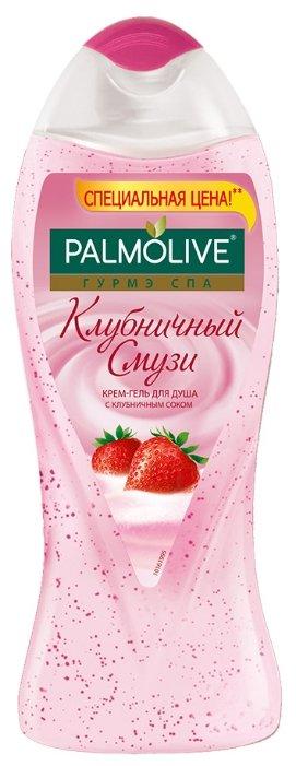 Крем-гель для душа Palmolive Гурмэ СПА Клубничный смузи