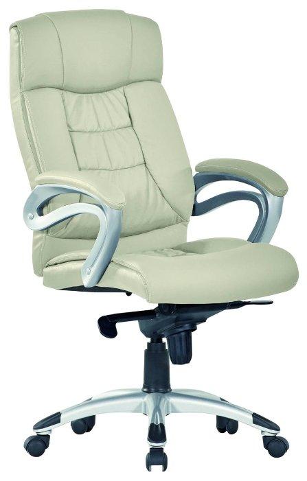 Купить Компьютерное кресло Хорошие кресла George для руководителя, обивка: искусственная кожа, цвет: beige по низкой цене с доставкой из Яндекс.Маркета