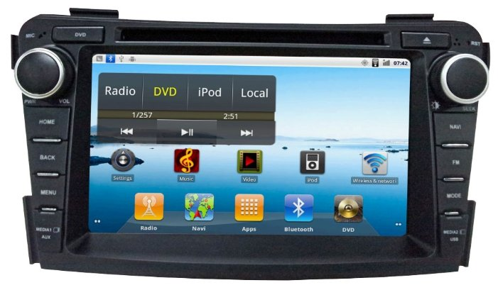SIDGE Hyundai i40 (2012-2013) Android 2.3
