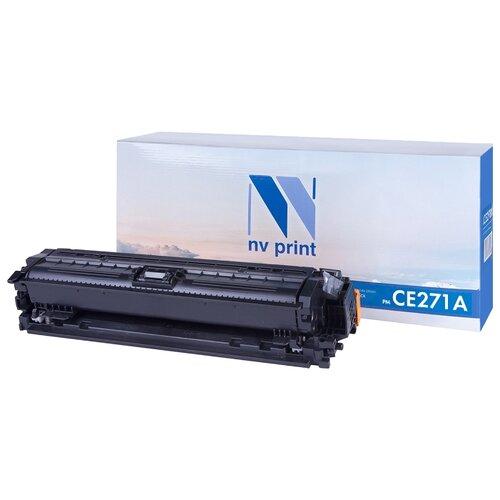 Фото - Картридж NV Print CE271A для HP, совместимый картридж nv print q7581a для hp