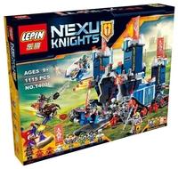 Конструктор BELA Nexo Knight 10490 Фортрекс - мобильная крепость