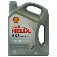 Моторное масло SHELL Helix HX8 Synthetic 5W-30 4 л