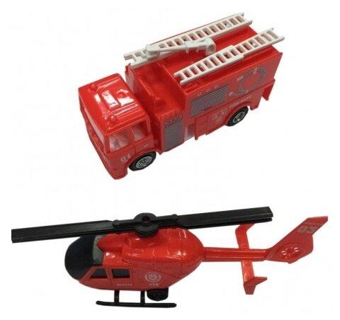 Набор техники Город Игр Фиксики -Транспорт спасателей L (GI-6398)