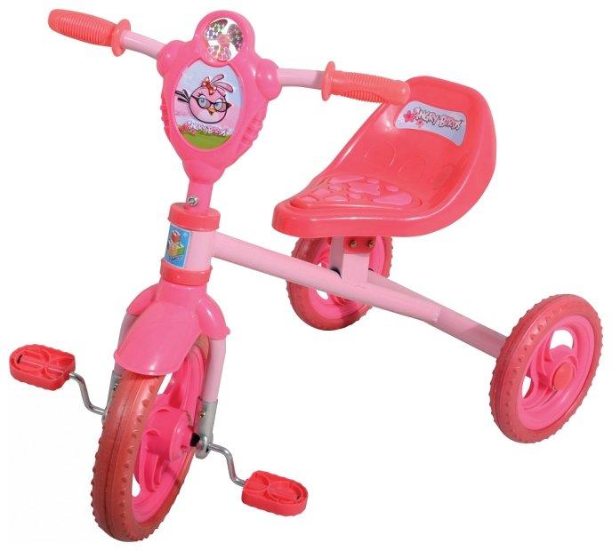 Трехколесный велосипед 1 TOY Т56842 Angry Birds