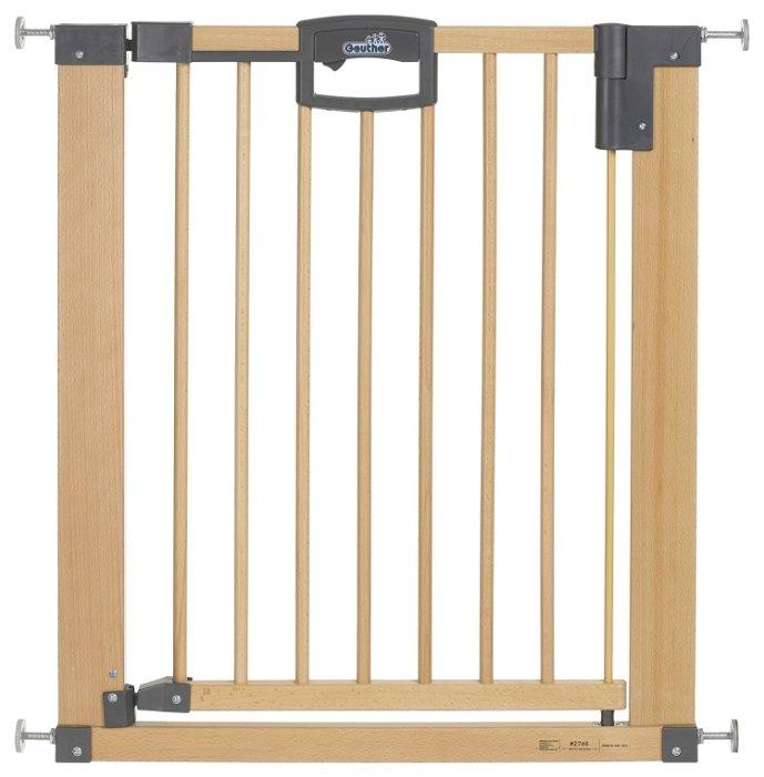 Geuther Ворота безопасности Easy Lock Natural 75.5-83.5 см