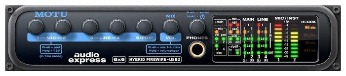 Внешняя звуковая карта MOTU Audio Express