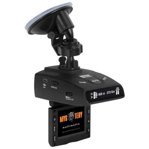 Видеорегистратор с радар-детектором Mystery MRD-935HDVSG, GPS серый