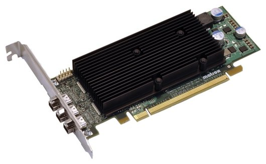 Matrox Видеокарта Matrox M9138 PCI-E 1024Mb 128 bit Low Profile