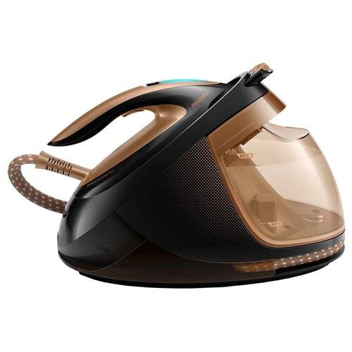 Парогенератор Philips GC9682/80 PerfectCare Elite Plus черный/бежевый парогенератор philips perfectcare elite silence gc9642