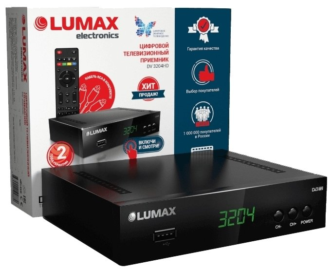 LUMAX TV-тюнер LUMAX DV-3204HD