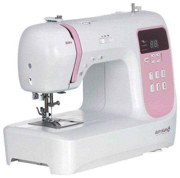 Сравнение с Astralux H20A швейная машина