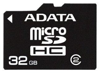 ADATA microSDHC Class 2 + SD adapter