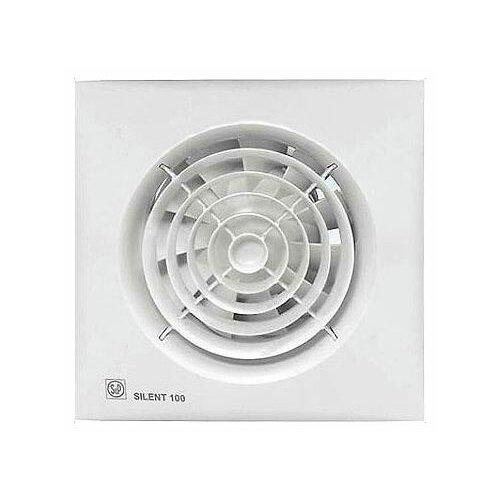Вытяжной вентилятор Soler & Palau SILENT-100 CZ, white 8 Вт