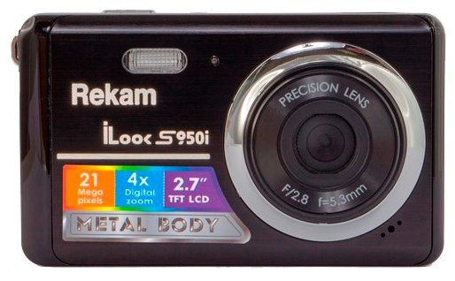 Rekam iLook S950i Black
