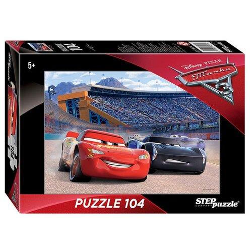 Пазл Step puzzle Disney Тачки - 3 (82170), 104 дет. пазл step puzzle park