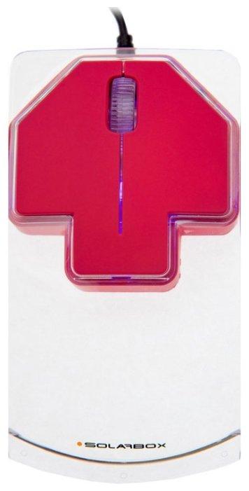 Мышь Solarbox X07 Red USB
