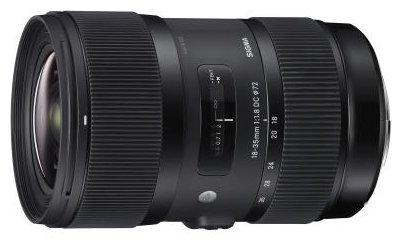 Sigma Объектив Sigma AF 18-35mm f/1.8 DC HSM Art Canon EF-S