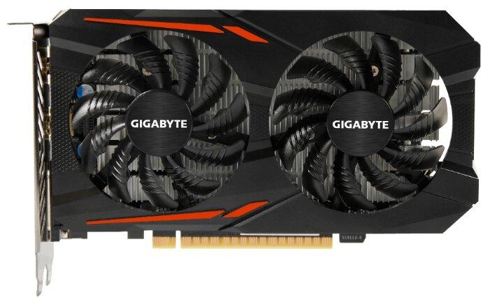 Видеокарта GIGABYTE GeForce GTX 1050 Ti 1316Mhz PCI-E 3.0 4096Mb 7008Mhz 128 bit DVI HDMI HDCP OC