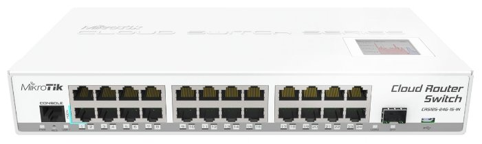 MikroTik Коммутатор MikroTik Cloud Router Switch CRS125-24G-1S-IN