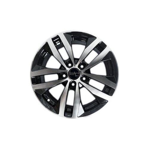Фото - Колесный диск LegeArtis VW144 6.5x16/5x112 D57.1 ET50 BKF колесный диск legeartis jp501 7 5x18 5x127 d71 4 et50 8 bkf