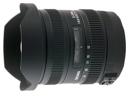 Sigma AF 12-24mm f/4.5-5.6 DG HSM II Sigma SA