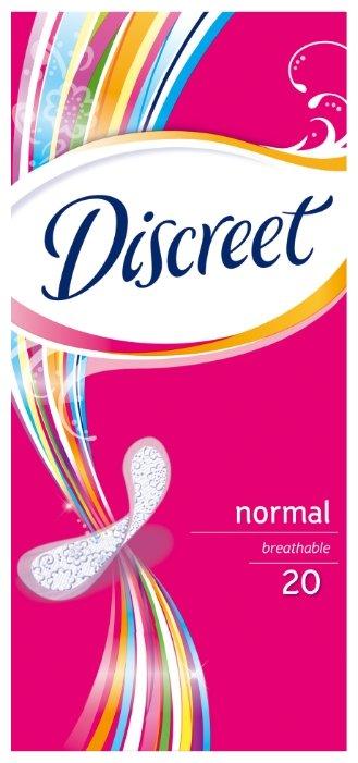 Discreet прокладки ежедневные Normal 20 шт.