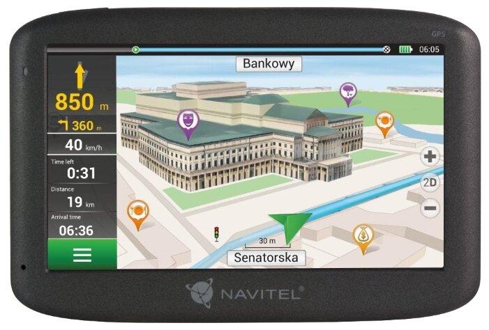 Навигатор с радар-детектором Navitel E500