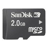 Карта памяти SanDisk microSD + SD adapter
