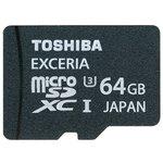 Карта памяти Toshiba SD-CX*UHS1 + SD adapter--