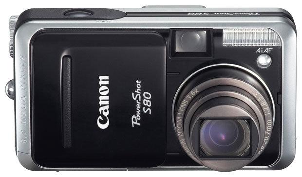Дисплей Canon S80