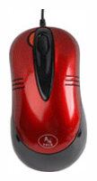 Мышь A4Tech X5-50D Red USB+PS/2