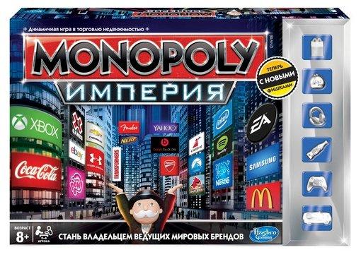 Настольная игра Hasbro games Monopoly Империя