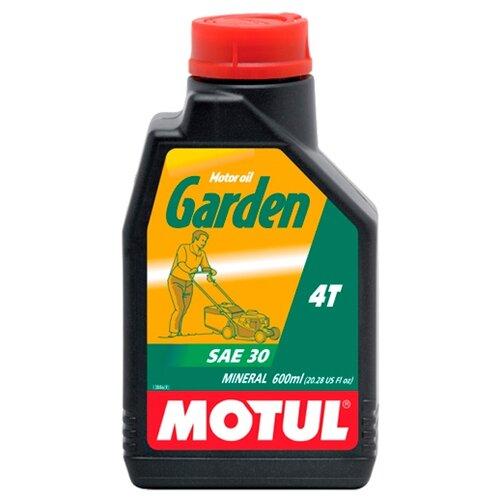 Масло для садовой техники Motul Garden 4T SAE 30 0.6 л motul outboard tech 4t 10w30 2л
