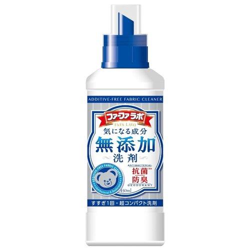 Жидкость для стирки NS FaFa Japan Additive Free Ultra 0.45 л бутылкаГели и жидкости для стирки<br>
