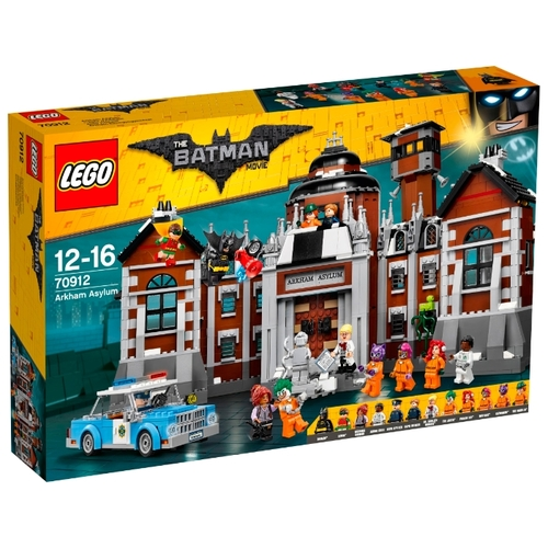 Конструктор LEGO The Batman Movie 70912 Клиника Аркхэм Конструкторы