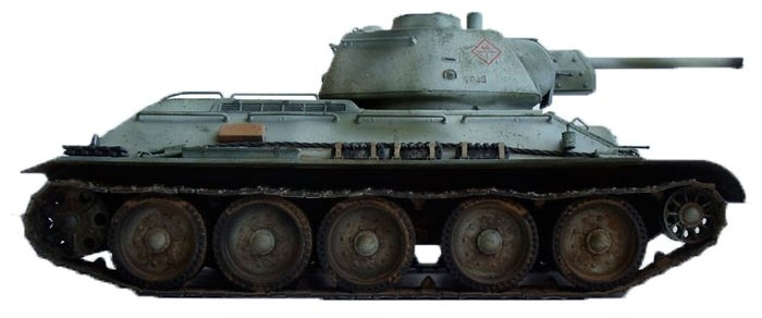 Сборная модель Моделист Советский танк Т-34-76 выпуск начала 1943г. (ПН303529) 1:35
