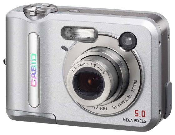 Фотоаппарат CASIO QV-R51